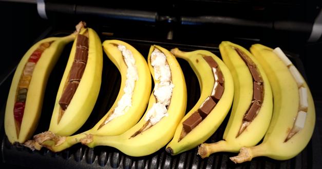 Gegrillte Banane mit Schokofüllung – Mein Lieblingsgrilldessert