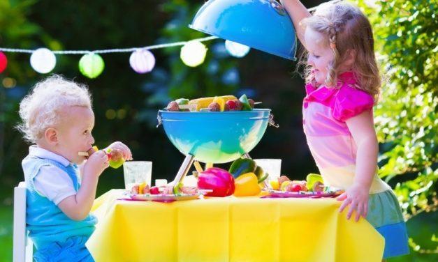Grillen zum Kindergeburtstag – Leckere Rezepte, die allen schmecken